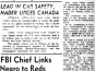 BC Indian Leader Predictics Large Migration to Cities, Vancouver Sun, May 17, 1967 (page 30)