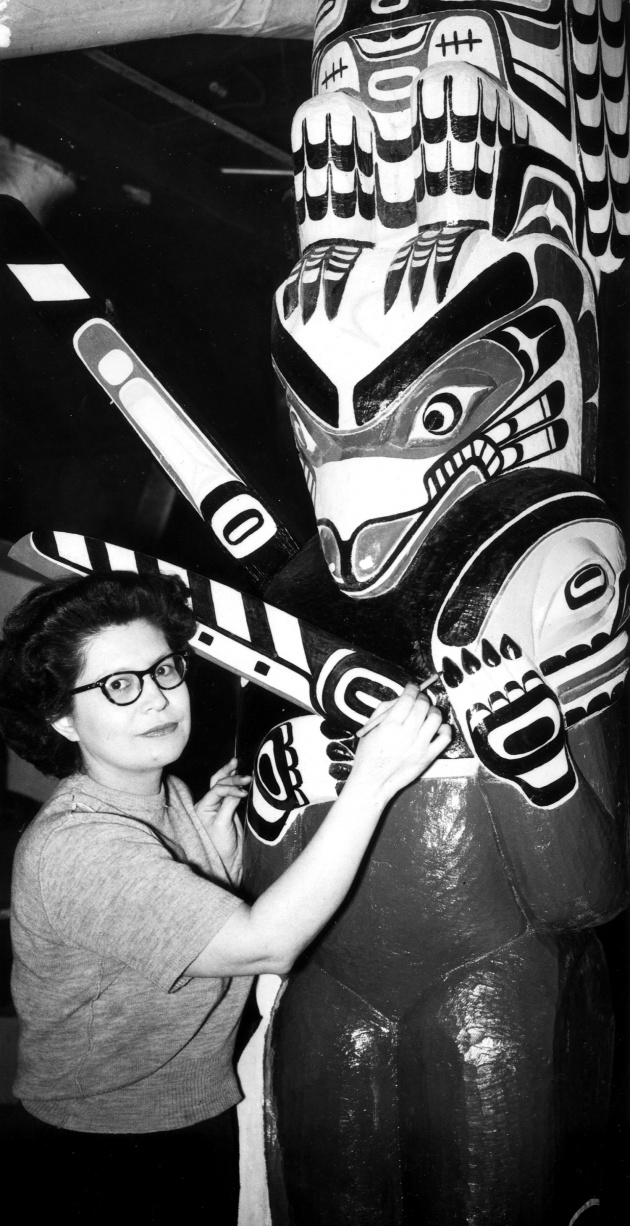 Danish Museum To Get Totem Pole From City, Vancouver Province, January 24, 1953 (page 21)