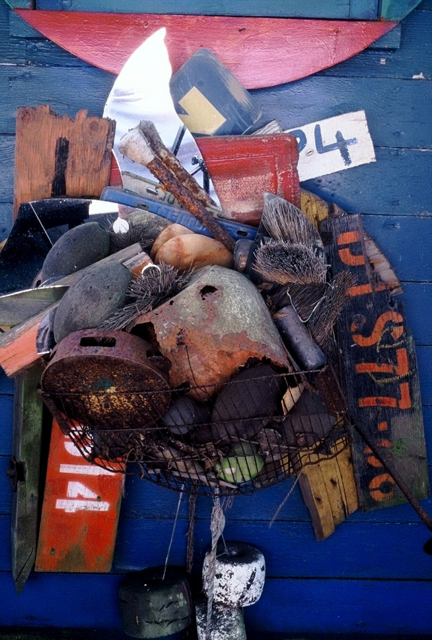 Al Neil, Detail of Deck Assemblage, 1970 - 1995