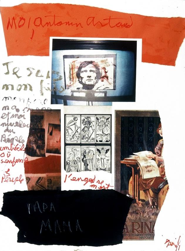 "Al Neli, from ""Artaud Series"", 1991"