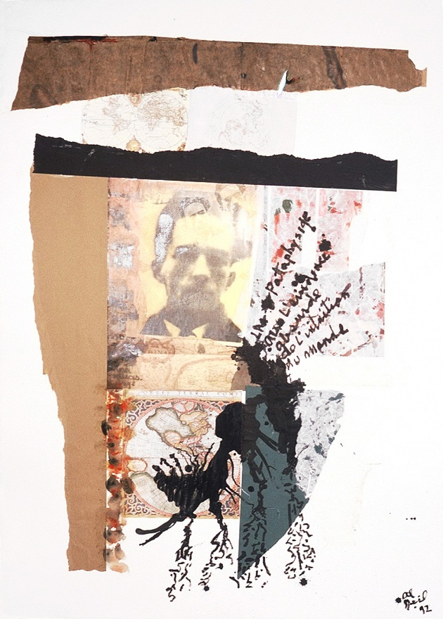 Al Neil, Rene Daumal Portrait #15, 1992
