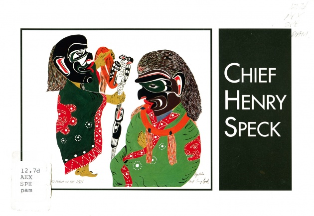 Chief Henry Speck, No Room at the Inn, 1958-1964