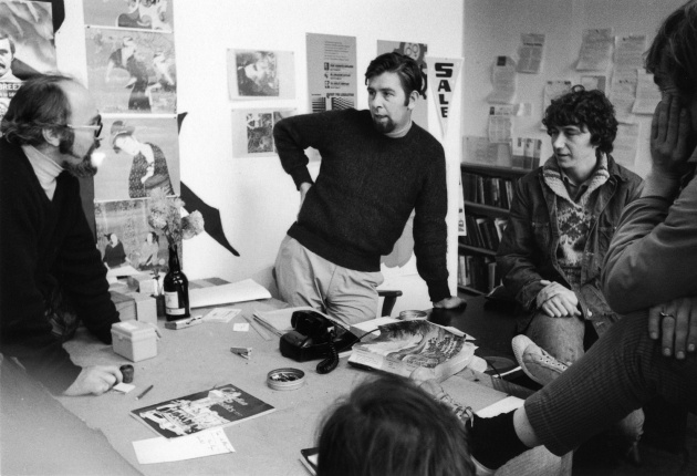 Michael de Courcy, Meeting at Intermedia on Beatty Street, 1968