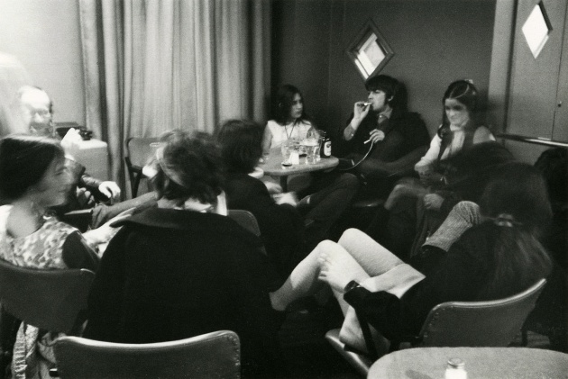 Michael de Courcy, Intermedia meeting at the Alcazar Pub, 1968