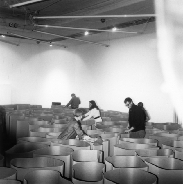Michael de Courcy, James Barber Installation at Intermedia Nights, 1968