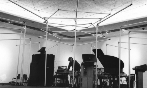 Michael de Courcy, Al Neil concert at Intermedia Nights, 1968