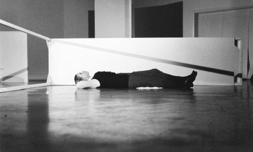 Michael de Courcy, Judith Schwarz performing White Room, 1968