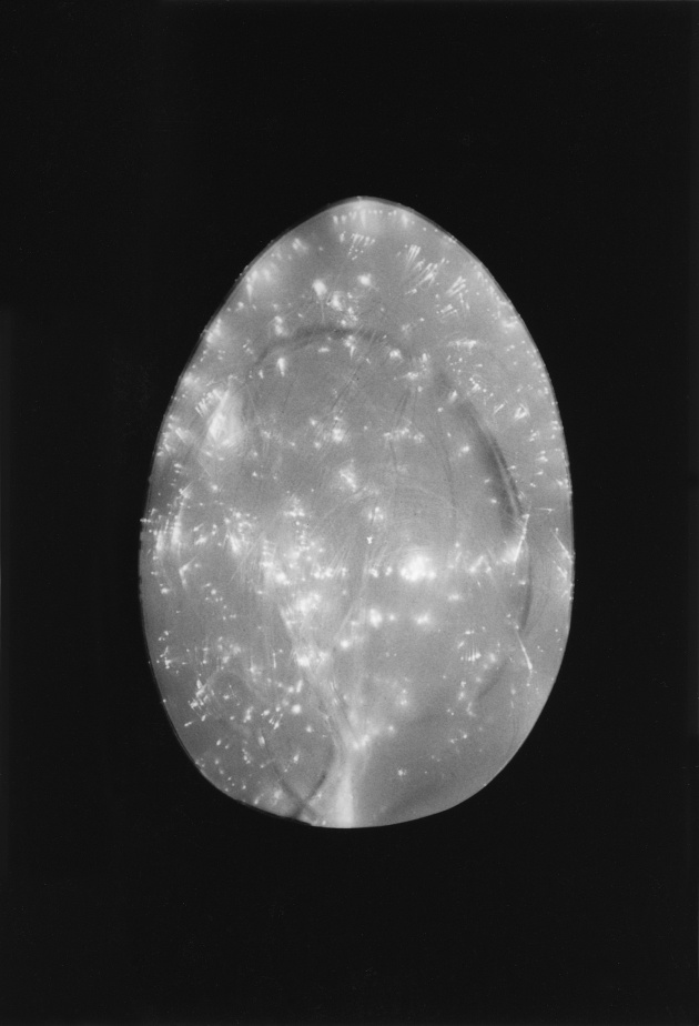 Michael de Courcy, Tom Obsourne and his Fibre Optic Egg, 1969