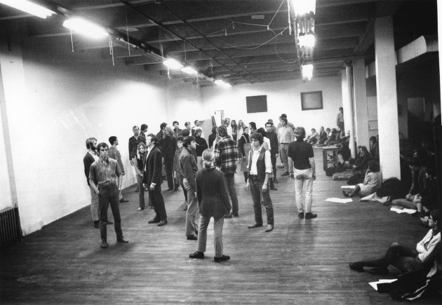 Michael de Courcy, Steve Paxton workshop at Intermedia, 1969