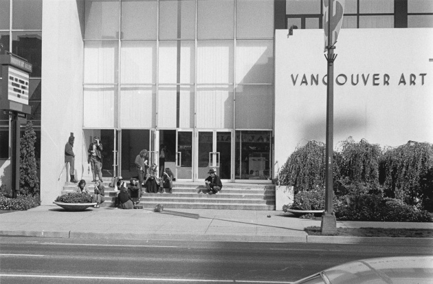 Michael de Courcy, The Vancouver Art Gallery, 1969