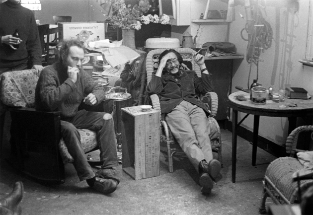Michael de Courcy, Video screening at Intermedia, 1970