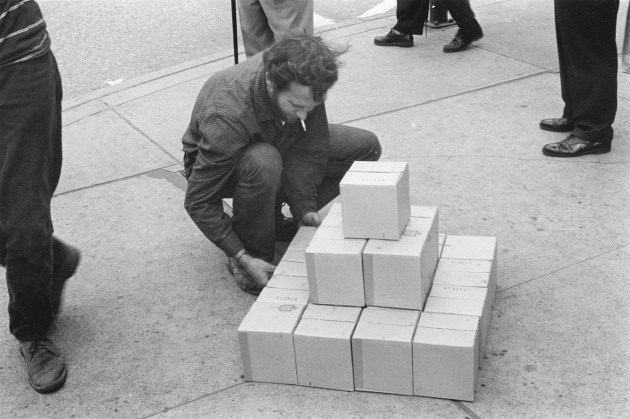 Michael de Courcy, Boxes on Pender, 1969
