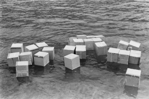 Michael de Courcy, Floating Boxes, 1969