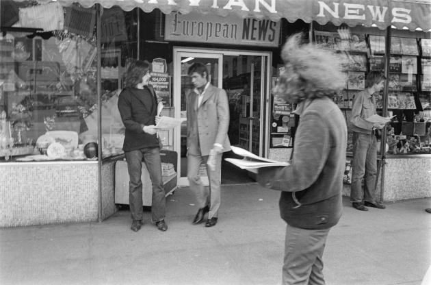 Michael de Courcy, Vancouver Art Gallery self-publishing workshop, 1970