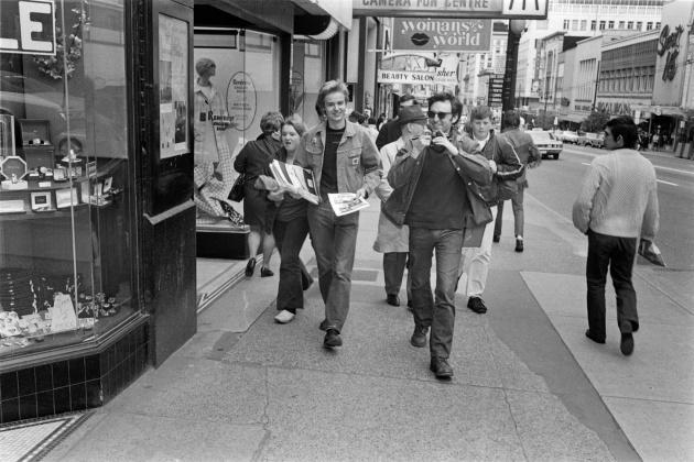Michael de Courcy,Vancouver Art Gallery self-publishing workshop, 1970