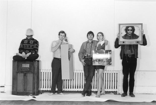 "Michael de Courcy's ""Room"" at the Vancouver Art Gallery, Michael de Courcy, 1969"