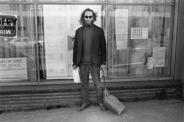 Henry Rappaport outside of Intermedia on 4th Avenue