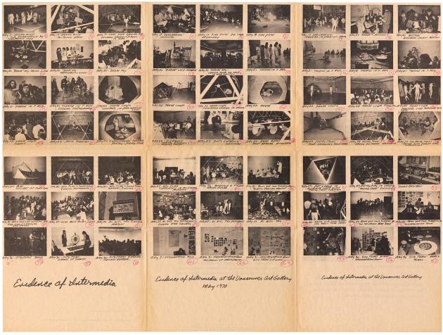 Dome Show Artscanada Insert, 1970, Michael de Courcy