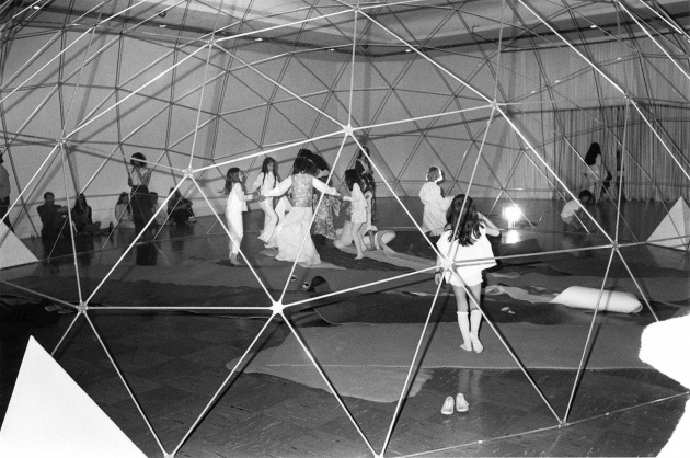 Children Dancing at the Dome Show, 1970