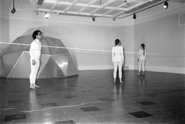 Michael de Courcy, Dance Loops at the Dome Show, 1970