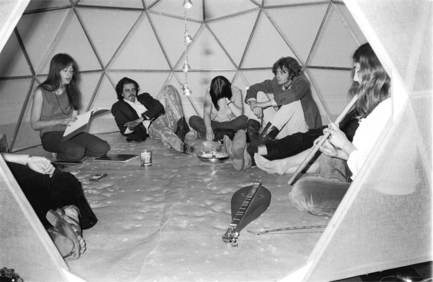 Michael de Courcy, Poetry readings at the Dome Show, 1970