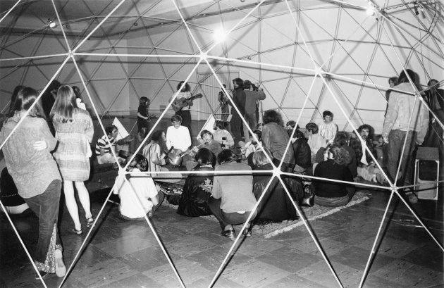 Michael de  Courcy, Music performance at the Dome Show, 1970