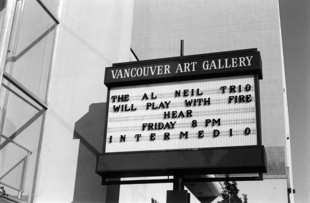 Michael de Courcy, The Vancouver Art Gallery, 1970