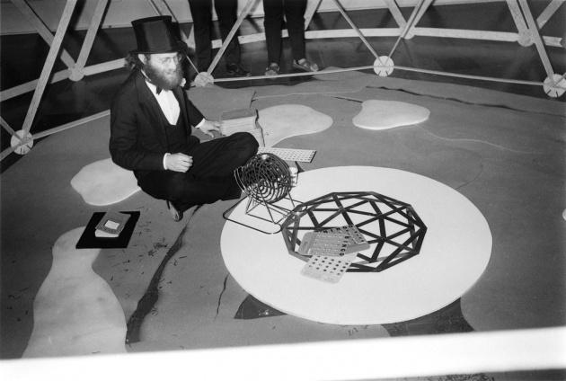 Michael de Courcy, City Feast Bingo game, 1970
