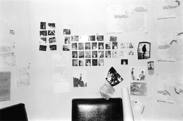 Michael de Courcy, Polaroids of Dome Show participants in the Documentation Room, 1970