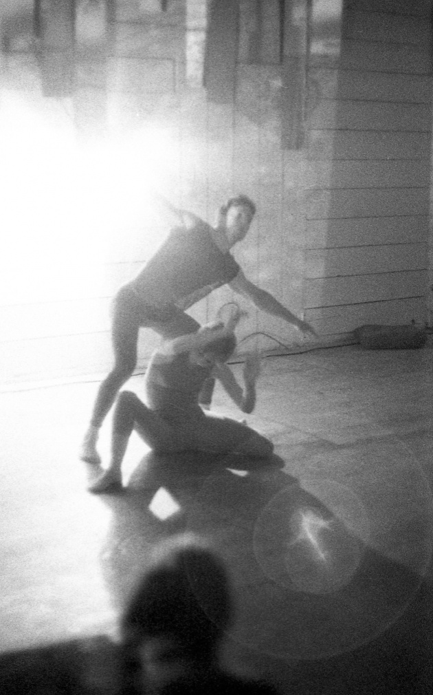 Jack Dale, WECO dancers at the Motion Studio, 1966