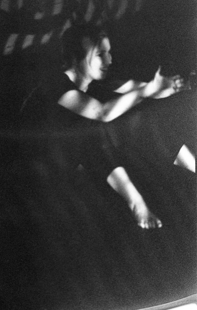 Jack Dale, WECO dancer performing at the Motion Studio, 1966