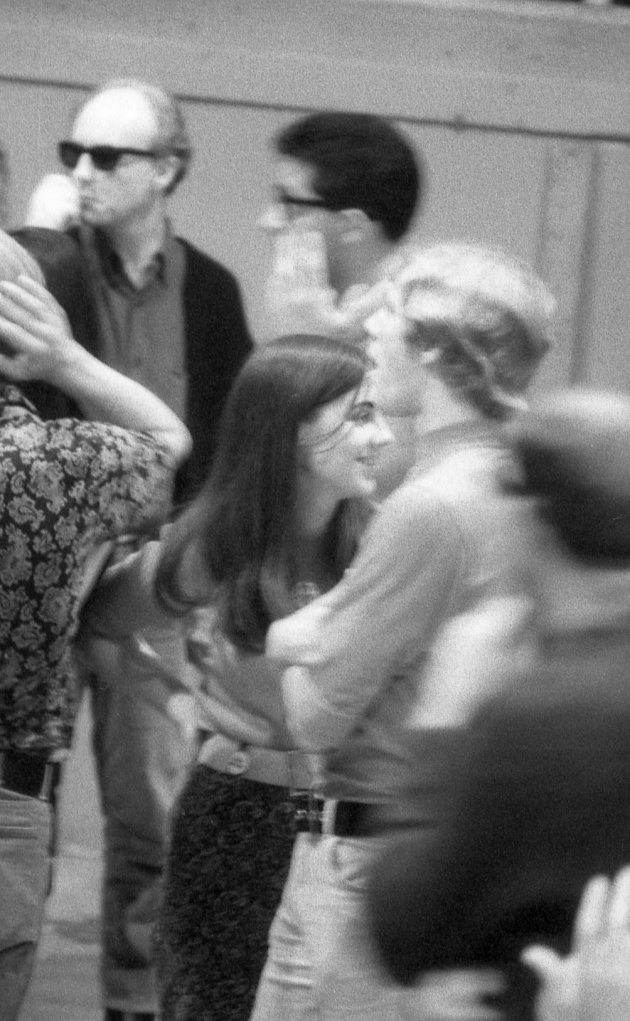 Jack Dale, Lori Rothstein (centre) and other participants at the Trips Festival, 1966