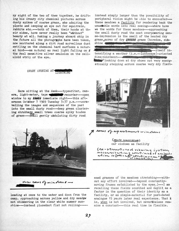 Jeff Wall, Landscape Manual, 1969