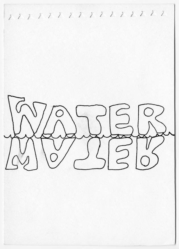 Carole Itter, Word Work, Series of 19 drawings, c. 1966 - 69
