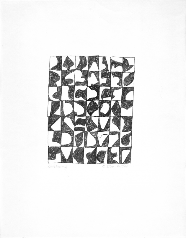 Carole Itter, Pen Drawing, c. 1961