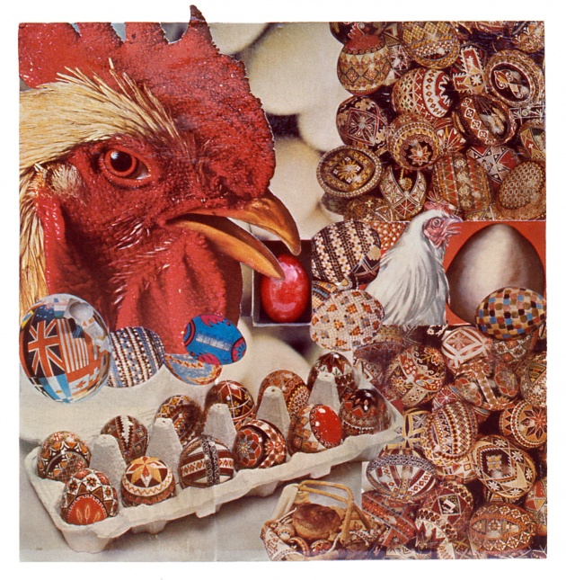 Carole Itter, Chicken Box #4, 1974