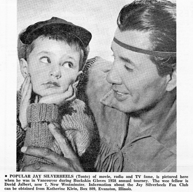 Popular Jay Silverheels, Native Voice, December 1960 (page 8)