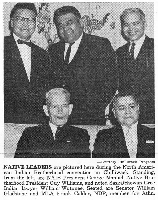 Indian Cultural Society Holds Vancouver Fete, Native Voice, April 1963 (page 1)