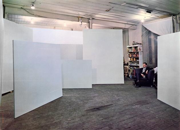 Yves Gaucher in his Studio, 1969