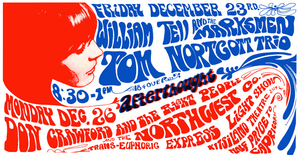 Bob Masse, William Tell & The Marksmen Tom Northcott, 1966
