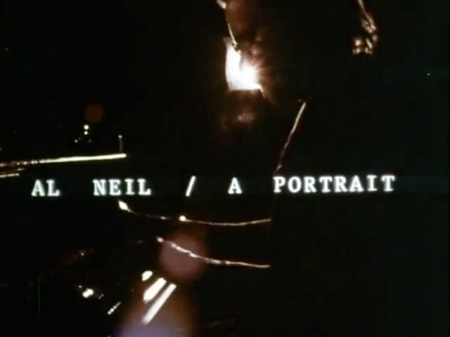 Still from Al Neil / A Portrait