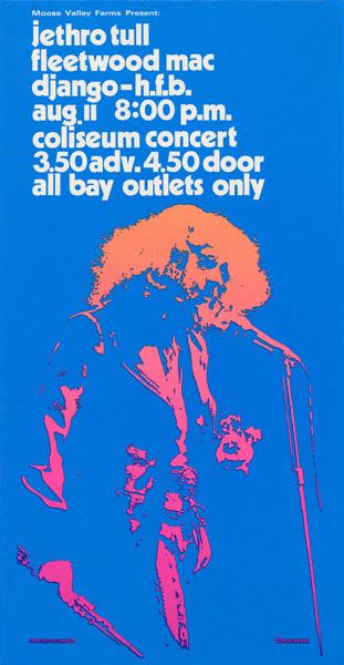 Bob Masse, Jethro Tull  & Fleetwood Mac, 1972