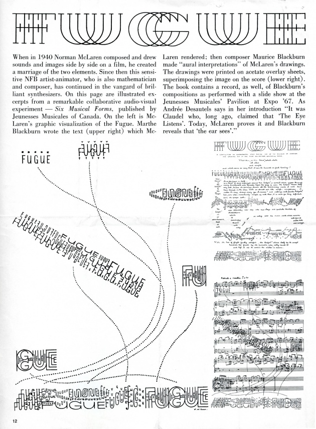 The New Alchemy, artscanada, June 1968 (page 12)