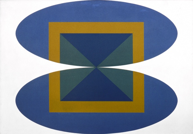 Roy Kiyooka, Convergence (The Bridge), 1965