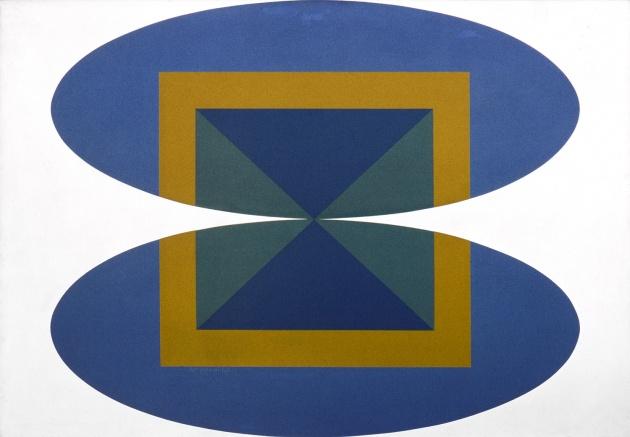 Roy Kiyooka, Convergence (The Bridge), 1965