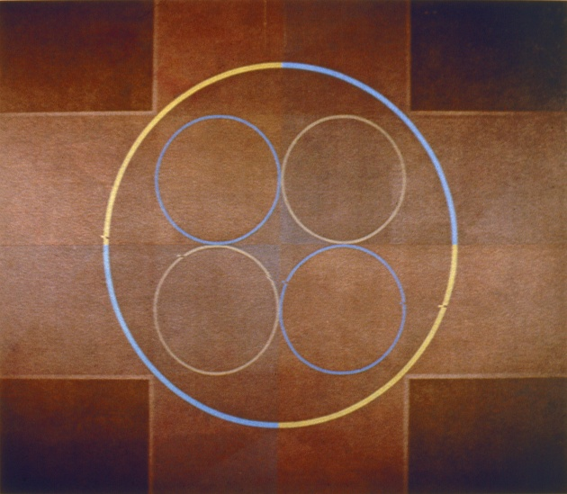 Roy Kiyooka, Magic Ring Series #1, 1965