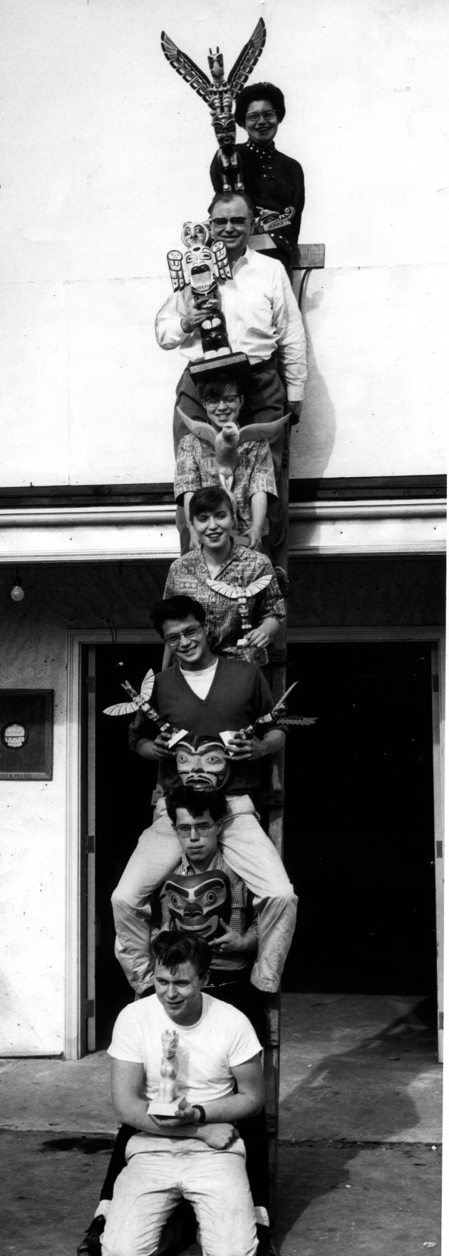 Neel Family As Totem Pole, 1960