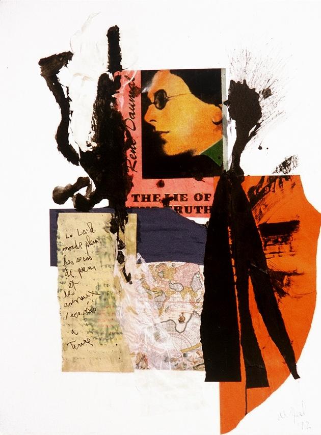 Al Neil, Rene Daumal Portrait #7, 1992