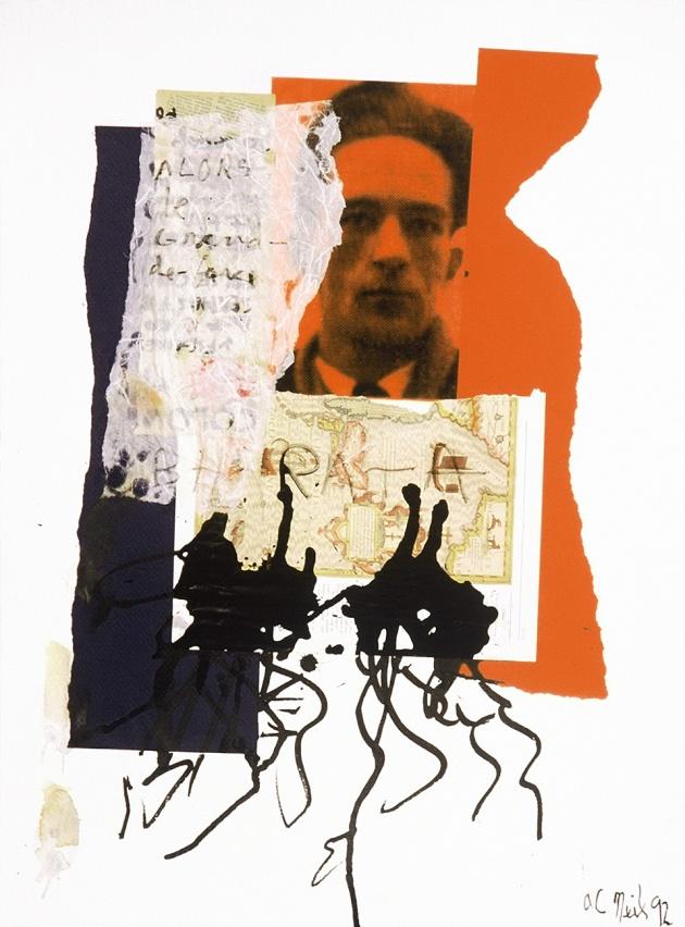 Al Neil, Rene Daumal Portrait #5, 1992