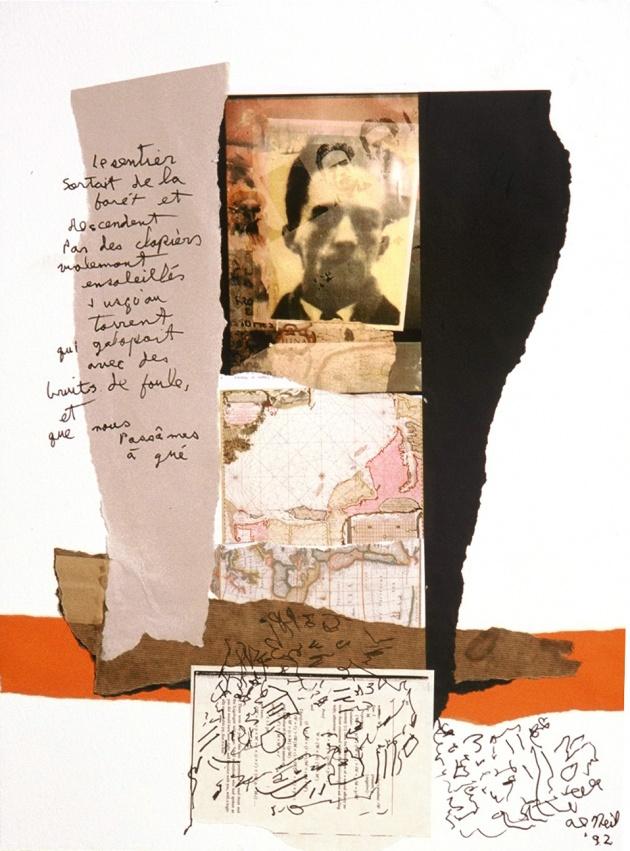 Al Neil, Rene Daumal Portrait #9, 1992